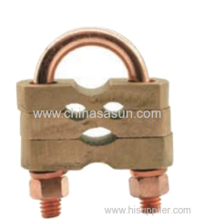 U Bolt Rod Clamp for earth Rod