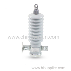 Factory direct sales metal zinc oxide ceramic surge arrester 10KV power distribution type ceramic surge arres