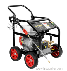 200Bar 250 Bar 3600PSI with wheels gasoline high pressure washer
