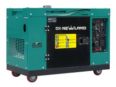 Digital Silent diesel generator with ATS