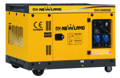 Super Silent diesel generator single cylinder 9.5kW