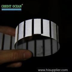 Credit Ocean Hot New Reflective Acetate Plastic Film for Shoe Lace