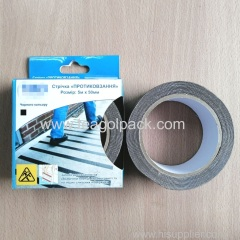 50mm Wx5M L Durable Abrasive Anti-Slip Tape Black.