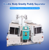 Double Paddy Separator | Rice Processing Machine in Rice Mill Plant