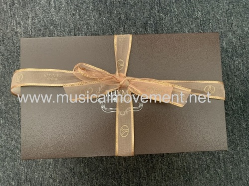 THT CUSTOMIZING YOUR OWN MELODY DELUXE 50 NOTE WOODEN MUSIC BOX