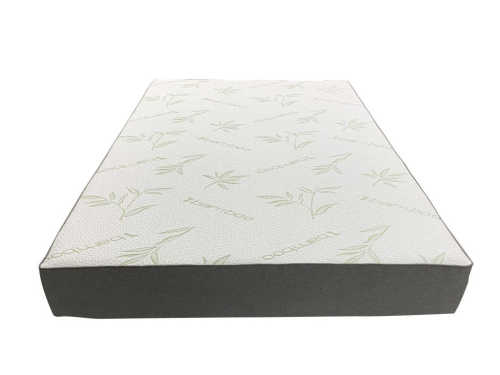 Memory foam mattress with washable cover