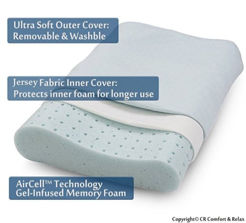 Traditional memory foam pillow customize sizes