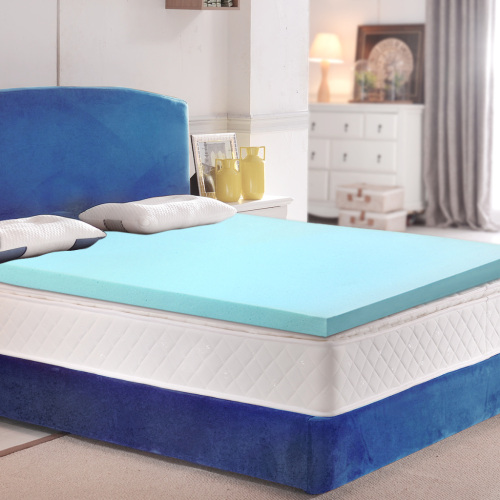 Factory direct Gel infused memory foam mattress topper