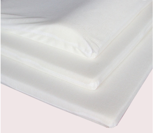 3-Layer Adjustable Contour Velvet Memory Foam Baby Pillow