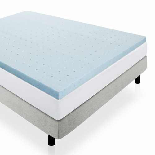 2020 new home cool gel memory foam folding mattress topper