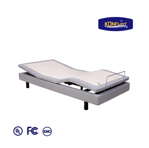 Multifunction adjustable bed massage bed with skirt