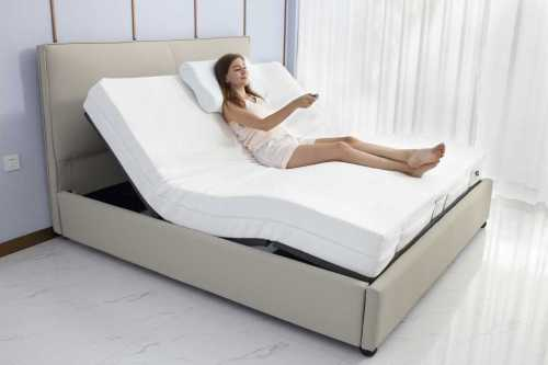 China factory wholesale modern foldable high quality bed for sale electric adjustable bed