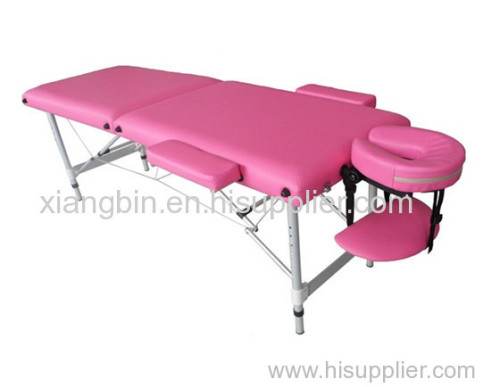 2 section aluminum massage table massage bed table de massage beauty bed