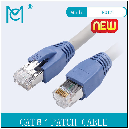 Cat 8.1 24AWG S/FTP Patch Cable No Mollding 1-25M