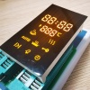 Ultra bright amber customized LED display common cathode for oven timer control