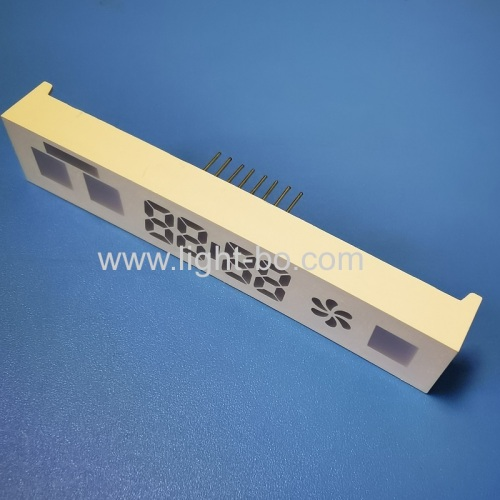 Customized Multicolour 4 Digit LED Display Module for kitchen hood control
