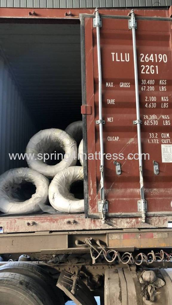 Steel wire1.9mm container loading photo