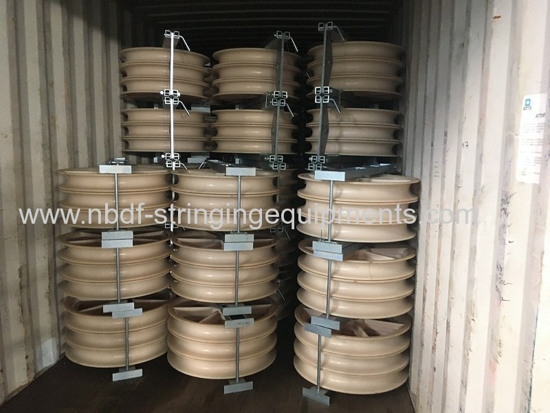 Conductor Stringing Pulley Blocks exported in big quantity