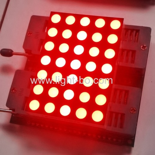Ultra bright red 5mm 5*7 Dot Matrix LED Display Row cathode column anode