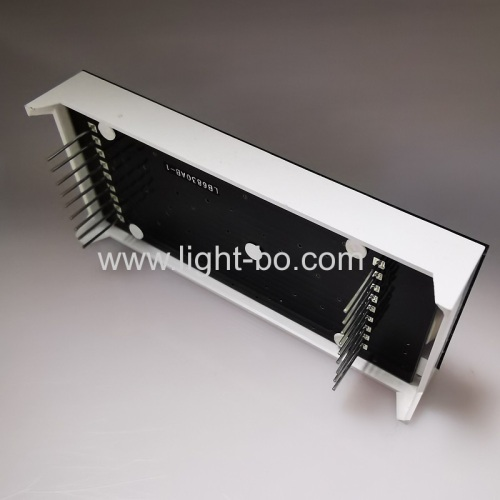 New Production Technology Customized Ultra bright whiteTriple Digit 14 Segment Alphanumeric LED Display