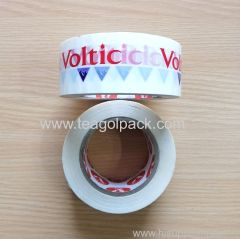 Packing Tape White color with Customized Red Printing