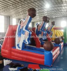 Most popular inflatable sport basketball games