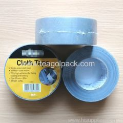 50mmx50M Single sided Cloth Duct Tape Silver Color 35mesh