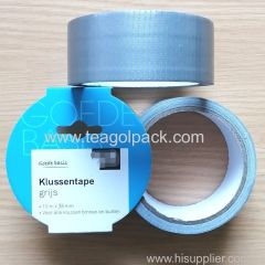 38mmx10M Cloth Duct Tape Silver Color