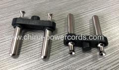 Brazil Plug Insert with 4.0mm hollow brass pins