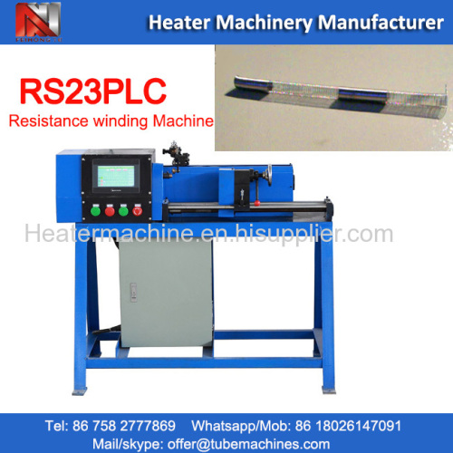 resistance wire winding machine with magnesium bar or mica sheet etc.