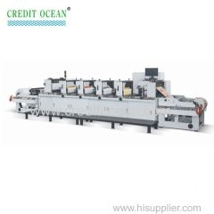 credit ocean 4 Colors Flexo Label Printing Machine