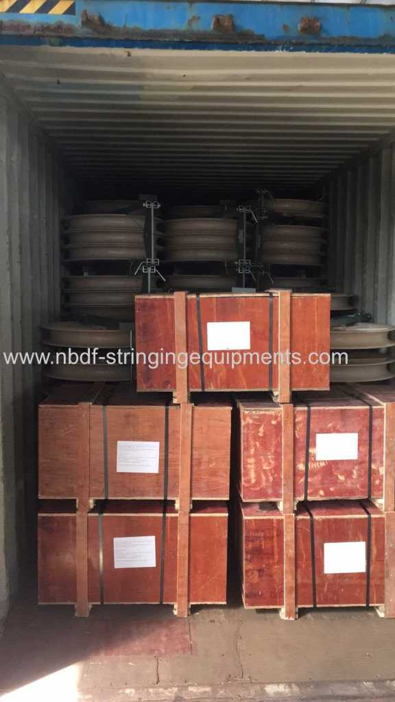 Transmission Line Stringing Tools Exported to KAZAKHSTAN