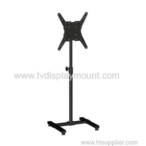 Competitive 400*400 Moveable TV Cart Stand with Wheels Standing
