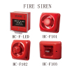 fire siren fire button fire alarm siren with strobe