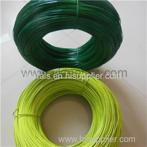 PVC Coated Wire pvc coated chicken wire plastic coated chicken wire galvanised wire mesh roll