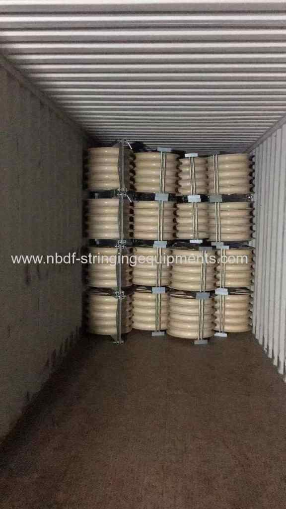 330KV Transmission line Stringing Equipment and accessories exported