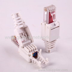 RJ45 CAT.6 8P8C UTP TOOLLESS PLUG