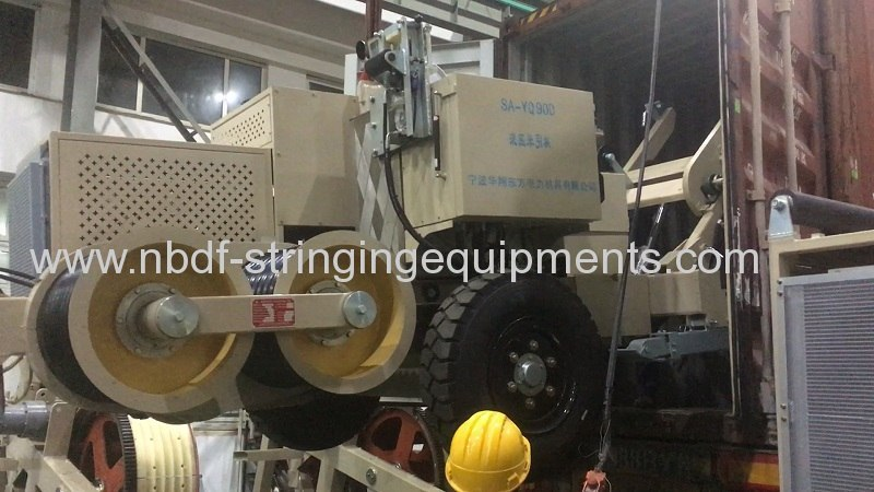 220KV Transmission Line Stringing Equipment and Accessories Exported