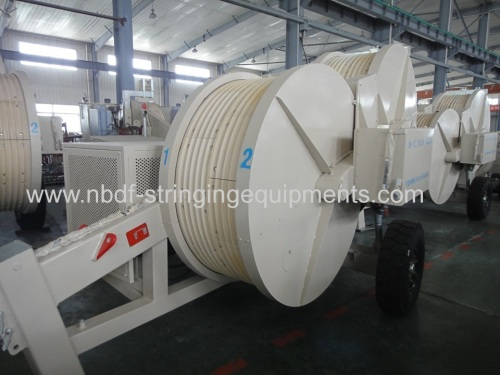 230KV Transmission Line Stringing Equipment Puller with Tensioner