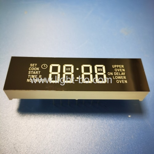 Ultra bright blue 4 Digit 7 Segment LED Clock Display Module for Oven Timer
