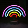 Rainbow Designs USB Battery Luminous Neon Signs Led Signature Gift Decoration Neon Light