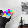 Christmas Gift Creative DIY Colorful Quantum Light LED Honeycomb Light Modular Touch Sensitive Wall Light