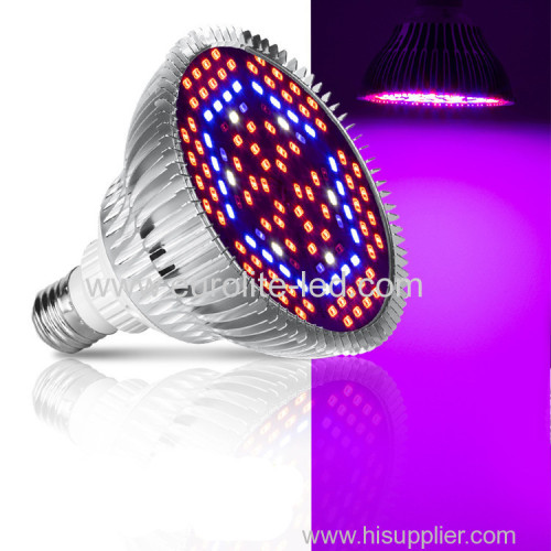 Led Grow Light E27 Bulb Full Spectrum Plant Light Par38 Bulb for Indoor Plants Greenhouse Succulent Flower Light