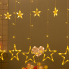 Led 6 Big Star 6 Small Star Light For Party Holiday Decoration USB Battery String Curtain Night Light