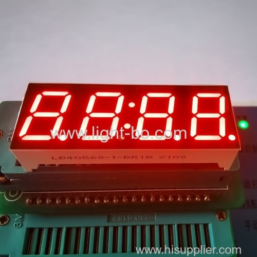 Super bright red 0.56inch 4 Digit LED Clock Display Common anode for cooker timer