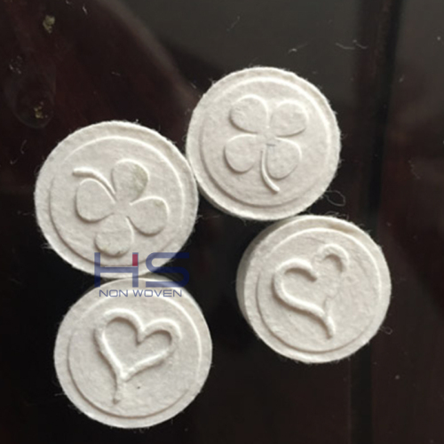 Nonwoven Compressed Coin Tissue Tablets