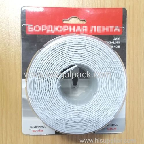 60mmx3.35M Bathroom&Kitchen Sealing Strip Tape white
