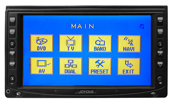 6.5inch Double Din DVD monitor with Touch Screen