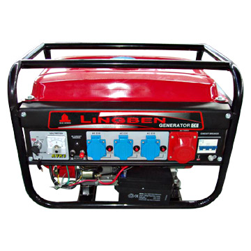 2kw gasoline generator with three phase