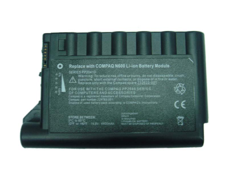 Laptop Battery Pack for Compaq N600 Series